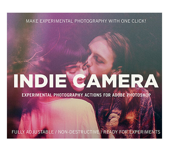 Efeito de foto Indie camera