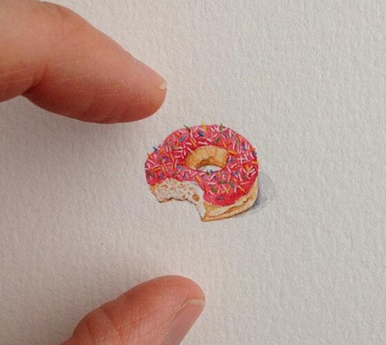 Pinturas em miniatura