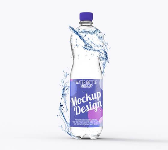 Mockup Garrafa de água