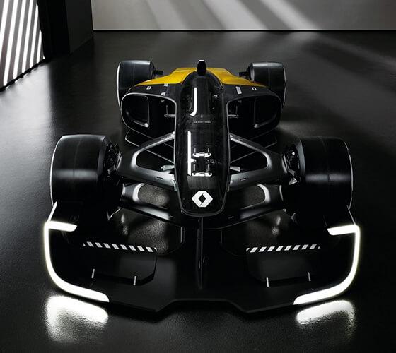 O futuro da F1 aos olhos da Renault