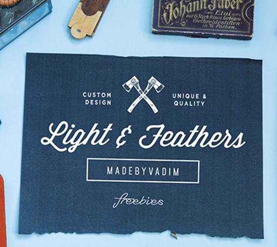 Mockup Light & Feather