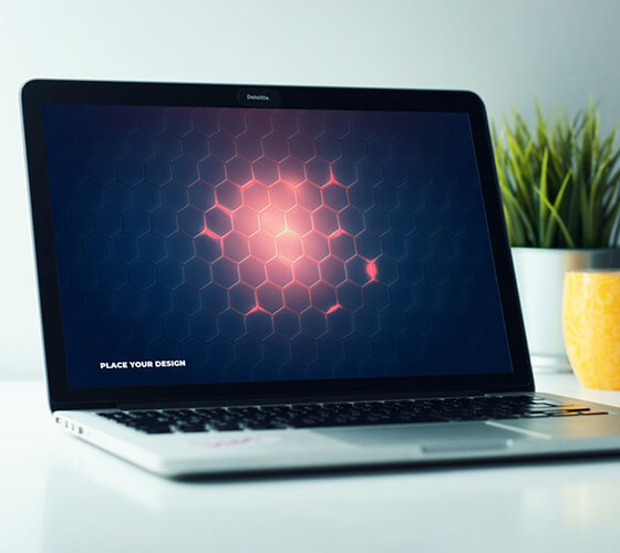 Mockup Macbook #10