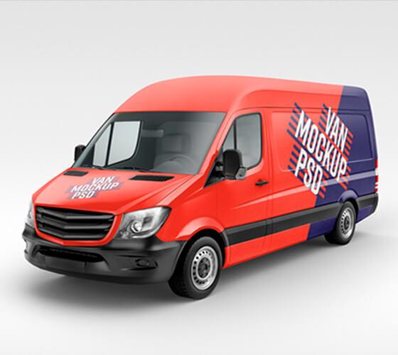 Mockup Van de carga #2