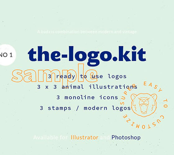 Kit Composição de logo #6