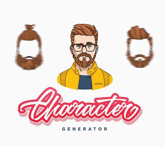 Gerador de personagens masculinos