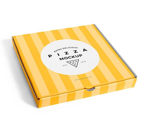 Mockup caixa de pizza #3