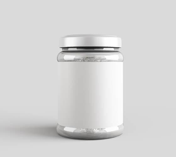 Mockup Embalagem de vidro #5