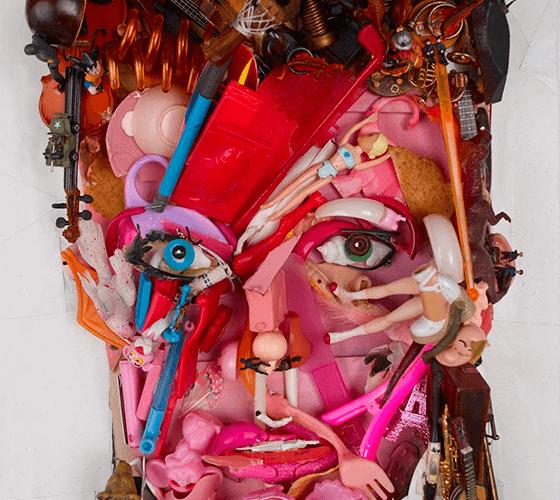 Retratos tridimensionais incríveis