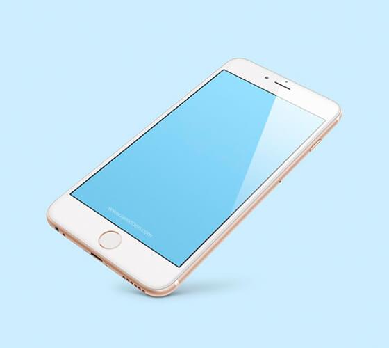 Mockup iPhone 8 #3