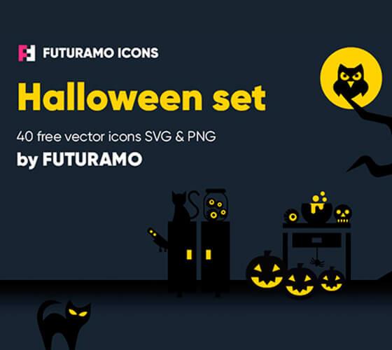 Ícones de Halloween #2