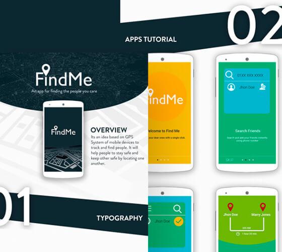 UI Kit FindMe