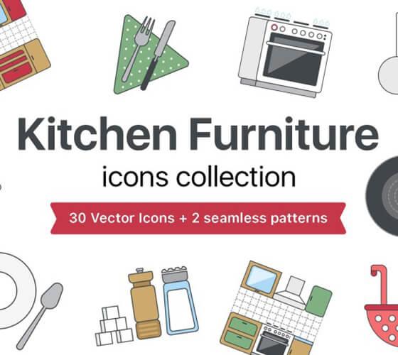 Ícones de cozinha #2