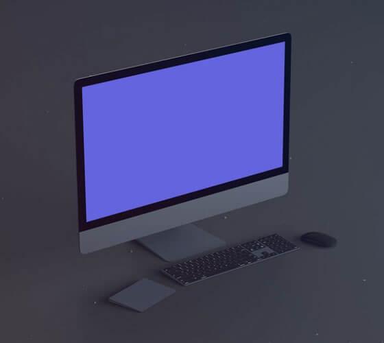 Mockup iMac #14