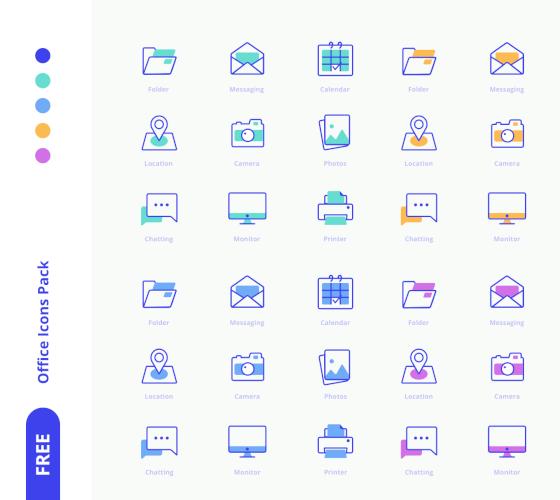 Ícones de Escritório #2