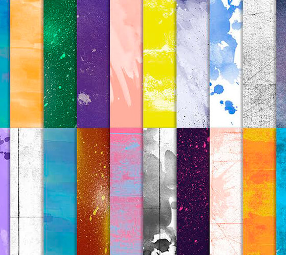 20 Grungy backgrounds