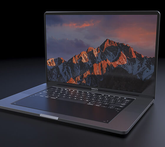 Conceito do MacBook Pro 2018