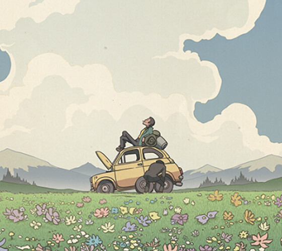 Releituras de Hayao Miyazaki por Bill Mudron