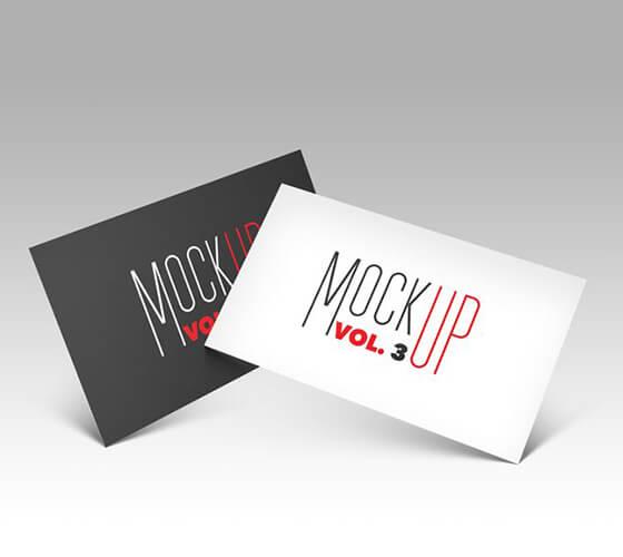 Mockup Cartão de visita #37