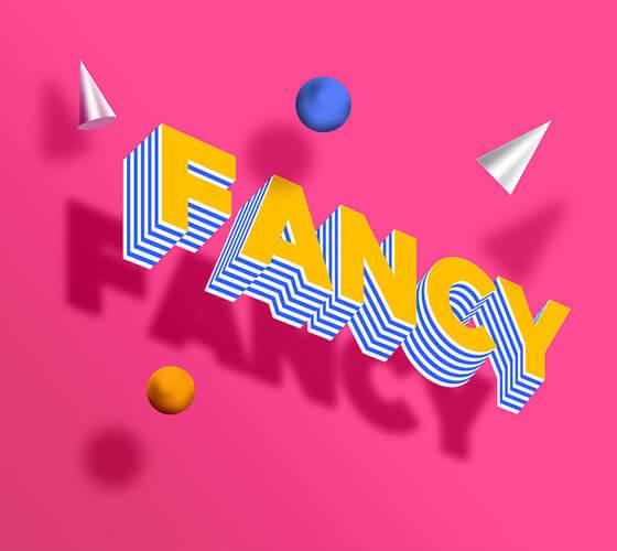 """Efeito de texto """"Fancy"""""""