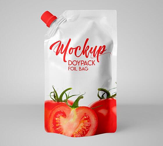 Mockup Embalagem pouch #6