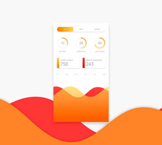 UI Kit Analytics Chart