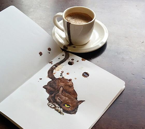 Gatos de café