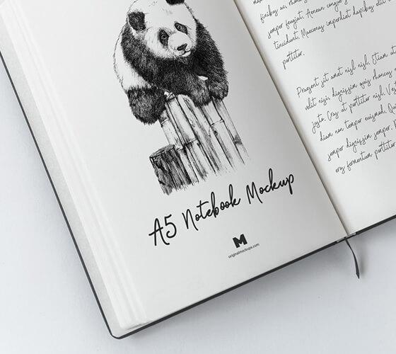 Mockup Sketchbook #10