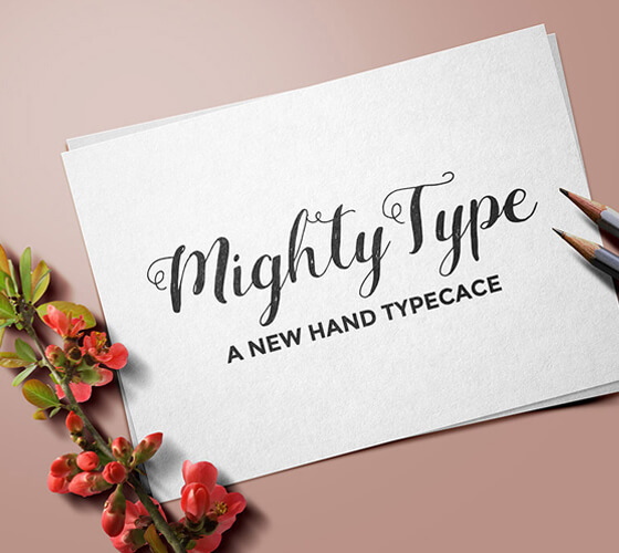 Mockup para Arte Tipográfica