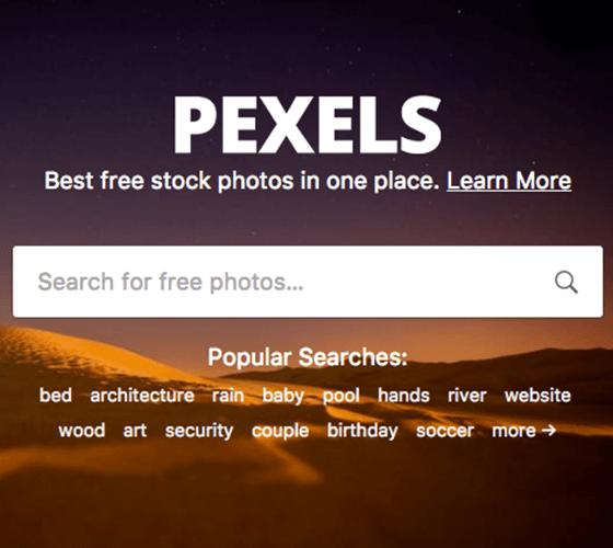 Pexels imagens