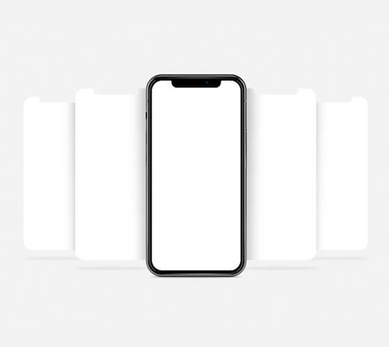 Mockup iPhone X #12