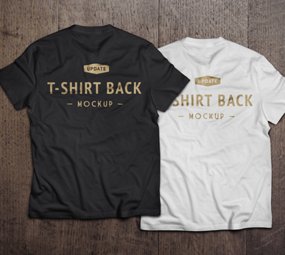 Mockup de Camiseta