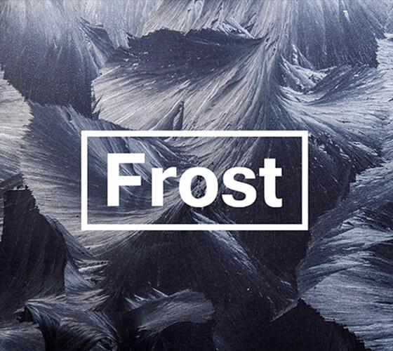 Texturas artísticas glaciais