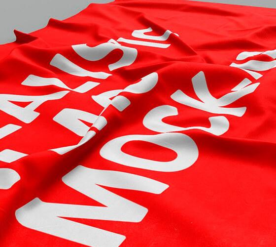 Mockup Bandeira #5
