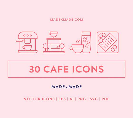 Ícones de café #2