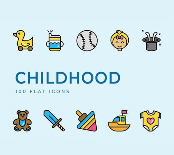 Ícones Infância