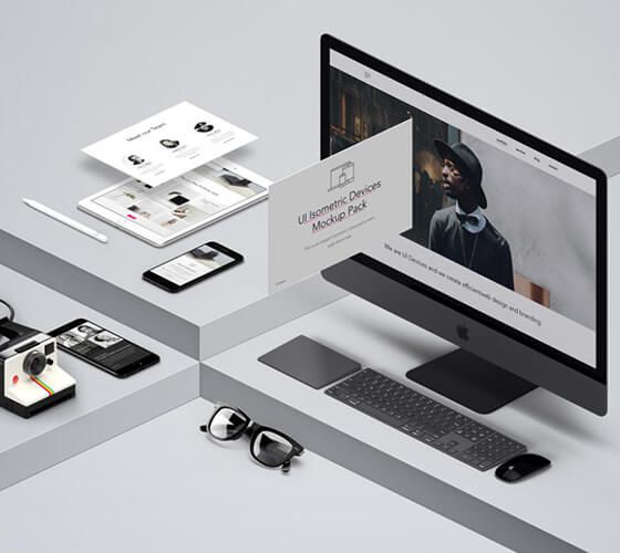 Mockup Devices diversos