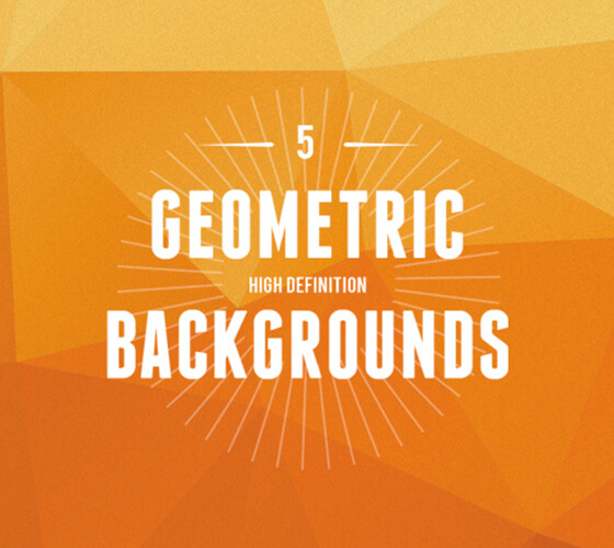 5 Backgrounds Geométricos