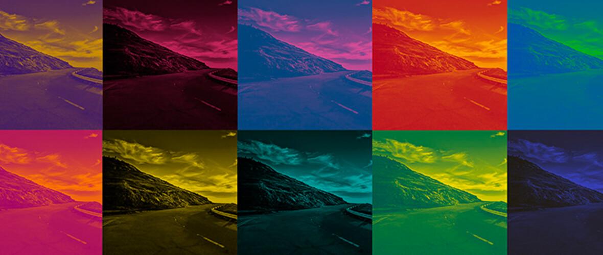 Resultado de imagem para filtro de cores