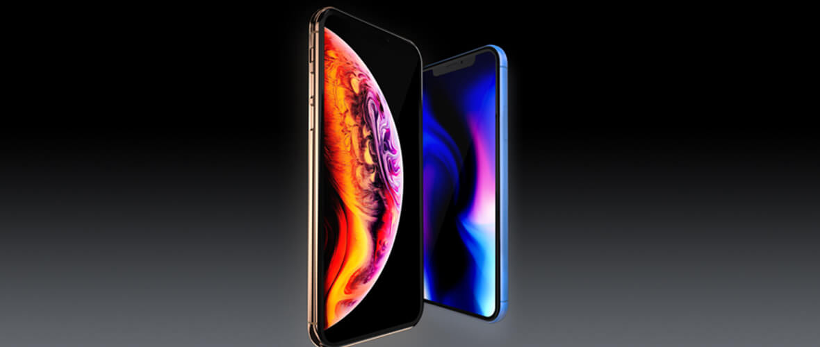 Mockup iPhone XS e XR