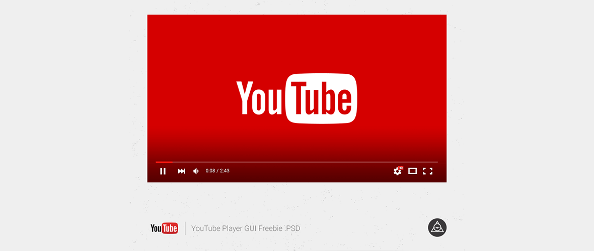Mockup Youtube player
